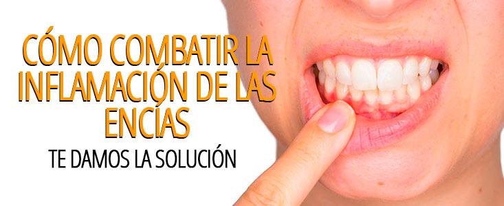 Cómo combatir la inflamación de las encías y poner freno a su dolor
